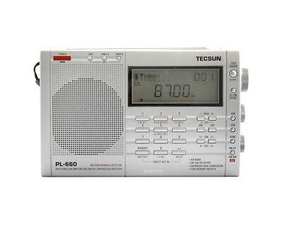 Tecsun PL660 AM FM SW Air SSB Synchronous Shortwave Radio -