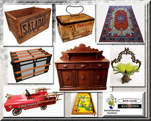 Fun, Old Fashioned, LIVE Country Antique Auction!