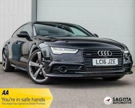 image for 2016 Audi A7 SPORTBACK TDI QUATTRO S LINE BLACK ED Semi Auto HATCHBACK Diesel Au