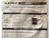AZTEC CUMBRE TENTS 4 PERSON FOR SALE