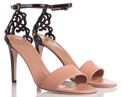 NIB RED VALENTINO Heels handmade ITALY Leather Size 36.5