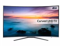 Samsung UE49KU6500 49 Inch Curved HDR Smart 4K Ultra HD LED TV Builtin Freeview Freesat and Wi-FI