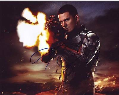 Channing Tatum Signed G I  Joe Photo W  Hologram Coa Magic Mike