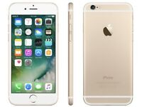 iPHONE 6 16GB, SHOP RECEIPT & WARRANTY, GOLD