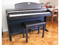 YAMAHA CLAVINOVA CLP-950 Digital Piano and matching stool in Rosewood