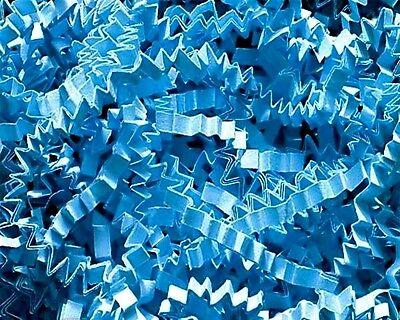 (U Choose Size! SKY BLUE Gift Basket Shred Crinkle Paper Grass Filler Bedding)