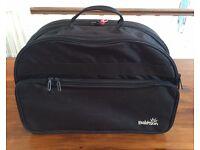 BabySun Folded Travel Bassinet / Cot, Black - £30