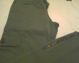 Oxygen- Taupe cargo pants- size 10