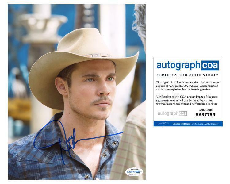 "Josh Henderson ""Dallas"" AUTOGRAPH Signed 'John Ross Ewing' 8x10 Photo B ACOA"