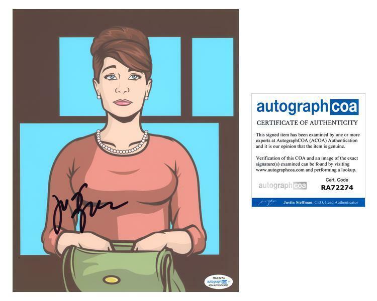 "Judy Greer ""Archer"" AUTOGRAPH Signed 8x10 Photo B ACOA"
