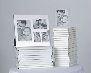 Silver picture frames - 4x6 and collage