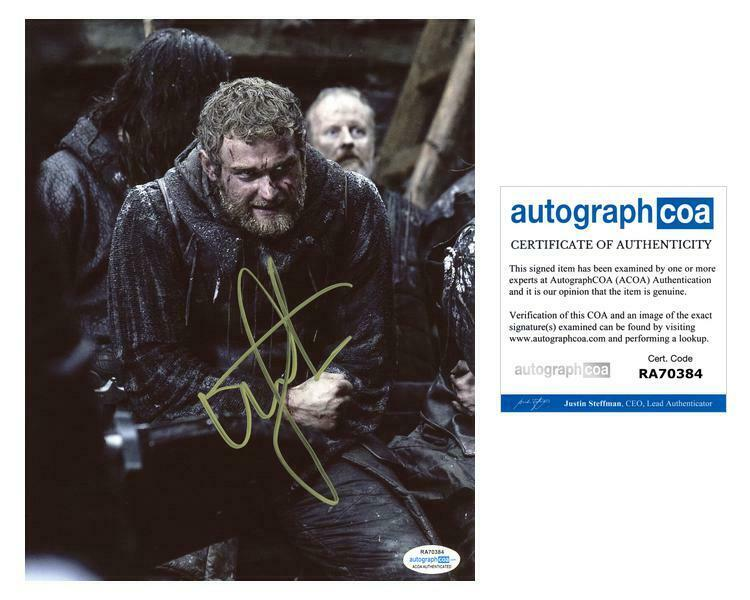 """Mark Stanley """"Game of Thrones"""" AUTOGRAPH Signed 8x10 Photo D ACOA"""