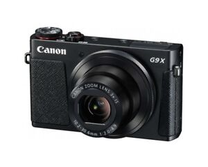 Canon G9X (like new), with cases!
