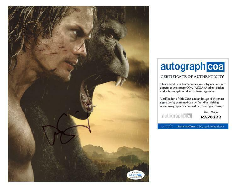 "Alexander Skarsgard ""The Legend of Tarzan"" AUTOGRAPH Signed 8x10 Photo D ACOA"