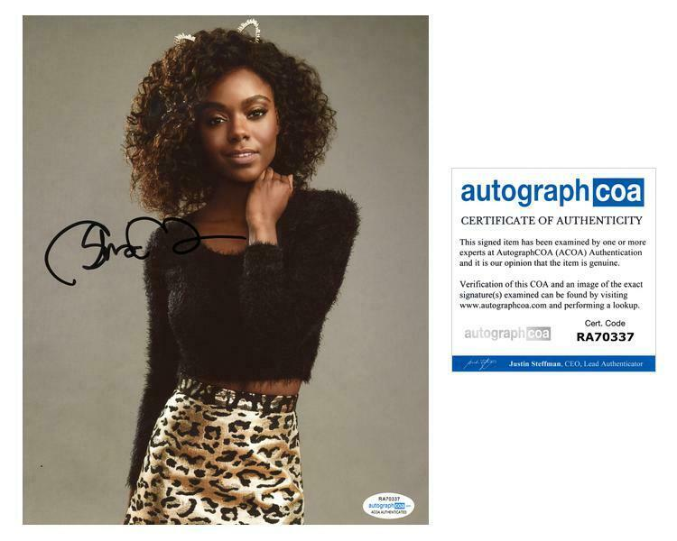 "Ashleigh Murray ""Riverdale"" AUTOGRAPH Signed 8x10 Photo C ACOA"
