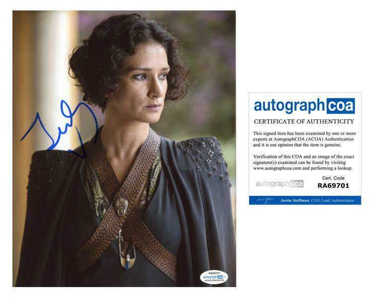 "Indira Varma ""Game of Thrones"" AUTOGRAPH Signed 8x10 Photo C ACOA"