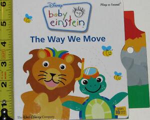 Baby Einstein BOARD Move Book