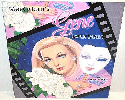Mel Odom's GENE PAPER DOLL s Book BRAND NEW Mint! Vintage Fashion Shackman Co