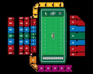 Rider tickets vs Montreal BELOW FACE VALUE