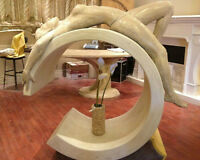 SCULPTURE -FIREPLACE MANTELS- PLASTER MOULDINGS-CUSTOM DESIGN