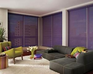 Window Blinds,Call 416 518 1052 for Free Estimate,70% OFF,Zebra,Roller,Shutters,Roman,silhouette,automatic,manual.