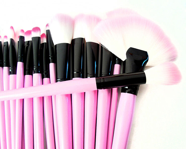 Купить PRO 32Pcs/Set - PRO PINK 32X Profession Superior Soft Cosmetic Makeup Brush Set Kit+Pouch Bag