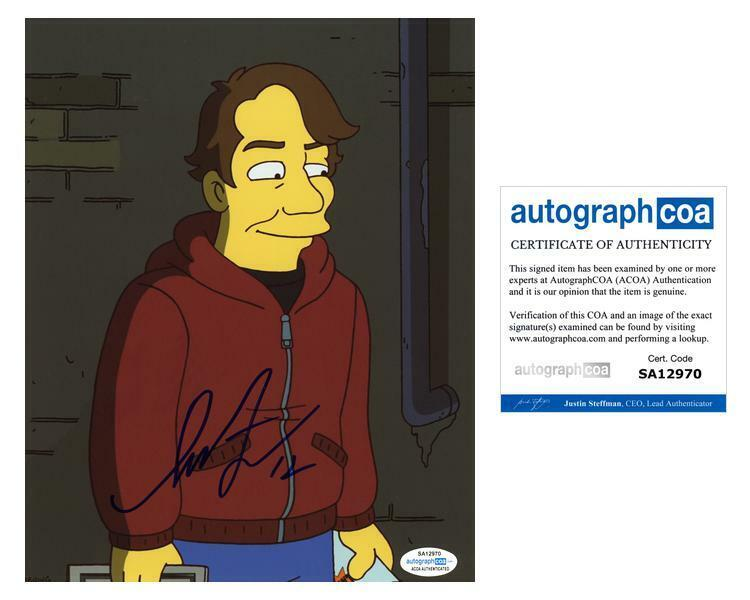 "Shepard Fairey ""The Simpsons"" AUTOGRAPH Signed 8x10 Photo ACOA"