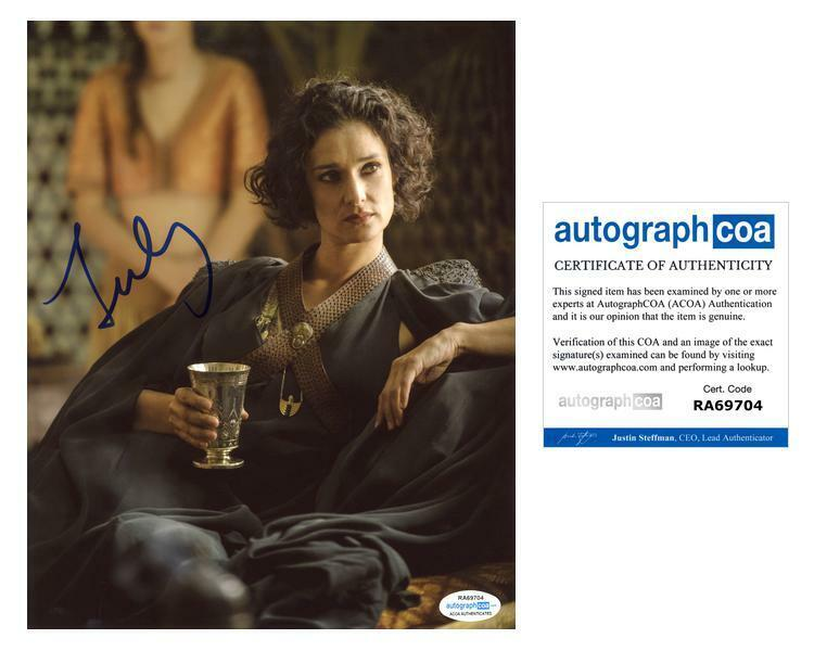 "Indira Varma ""Game of Thrones"" AUTOGRAPH Signed 8x10 Photo B ACOA"