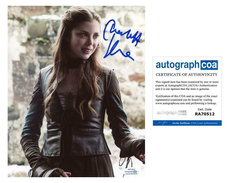 """Charlotte Hope """"Game of Thrones"""" AUTOGRAPH Signed 8x10 Photo C ACOA"""