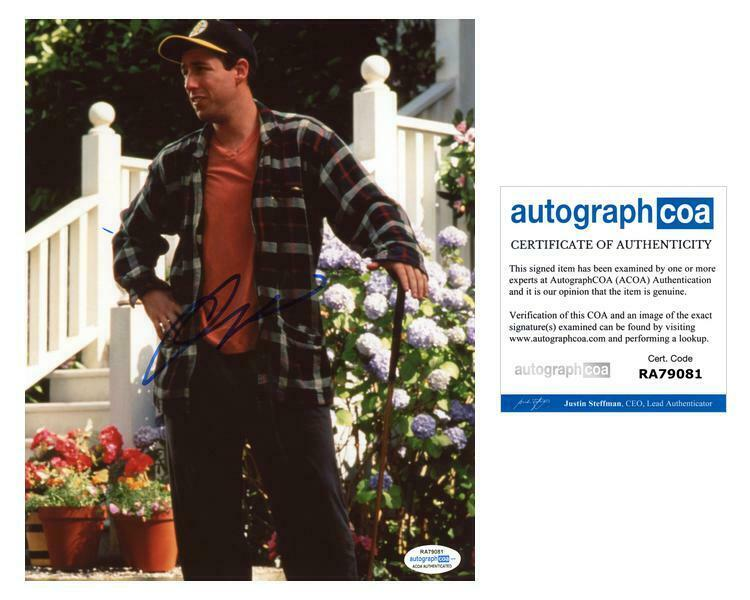 "Adam Sandler ""Happy Gilmore"" AUTOGRAPH Signed 8x10 Photo C ACOA"