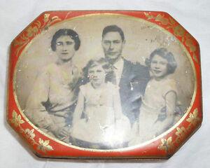 VINTAGE C.1930'S KING GEORGES VI FAMILY PHOTO TIN Edmonton Edmonton Area image 2