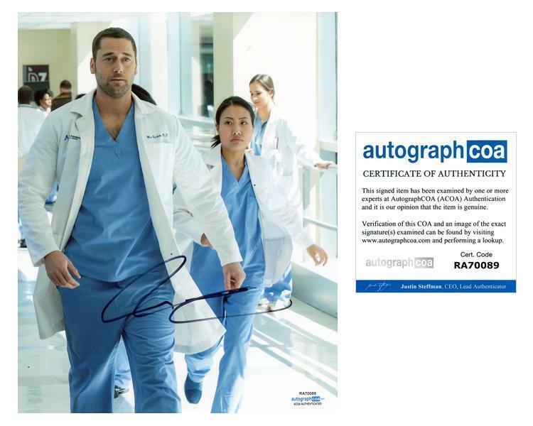 "Ryan Eggold ""New Amsterdam"" AUTOGRAPH Signed 8x10 Photo ACOA"