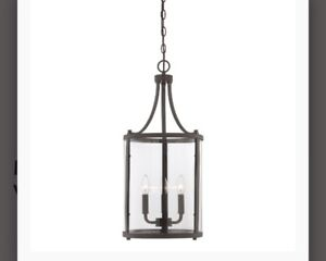Brand New Savoy House Penrose 3-Light  Lantern Hanging Light