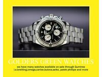 We sell good quality Genuine & Authentic watches