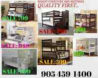 BUNK BEDS ON SALE LIKE NEVER BEFORE.........