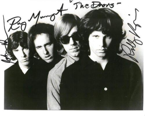 REPRINT - THE DOORS Signed 8 x 10 Glossy Photo Poster RP