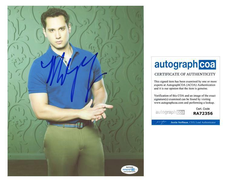 "Matt McGorry ""How to Get Away with Murder"" AUTOGRAPH Signed 8x10 Photo ACOA"
