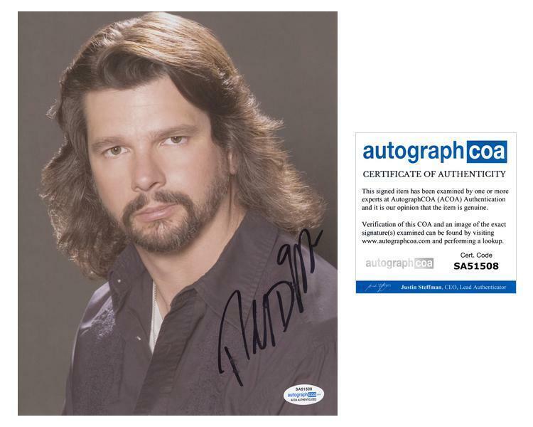 "Ronald D. Moore ""Outlander"" Producer AUTOGRAPH Signed 8x10 Photo ACOA"