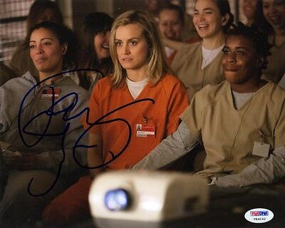 Taylor Schilling Signed 8X10 Photo Piper Chapman Orange Is The New Black Psa Dna
