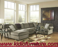 3pcs Ashley Sectional Set Lowest Prices Guarantee