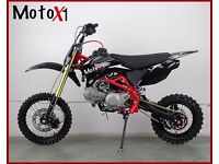 MotoX1 YX 140 competition pitbike race ready stomp engine