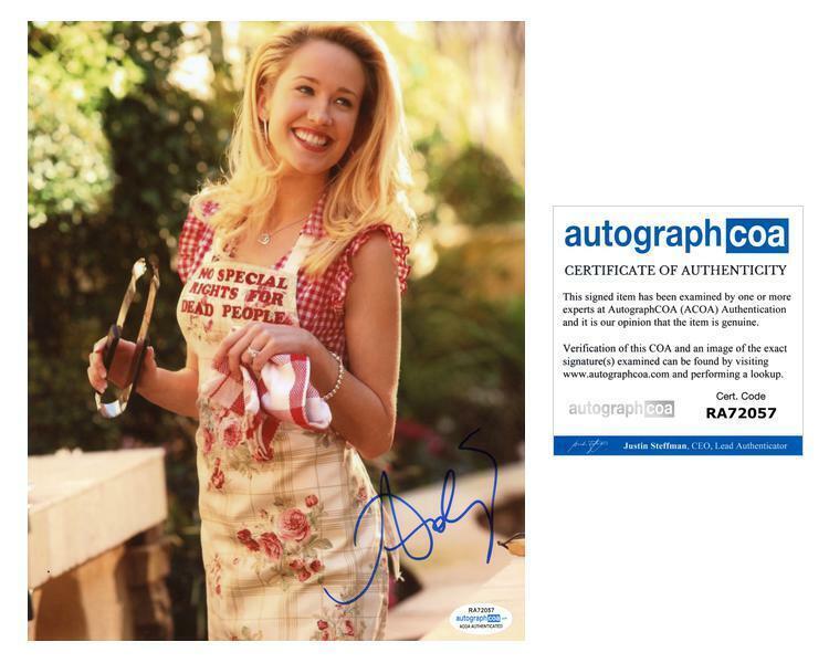 "Anna Camp ""True Blood"" AUTOGRAPH Signed 8x10 Photo ACOA"