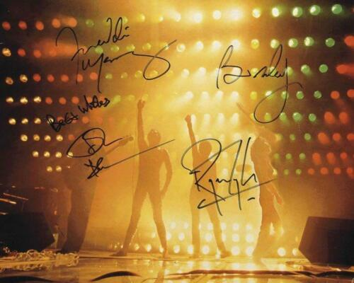 REPRINT - QUEEN Freddie Mercury - May Autographed Signed 8 x 10 Photo