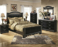 ASHLEY BEDROOM  STARTING FROM $999 THIS WEEKEND ONLY