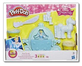 Brand New Cinderella Playdoh Set