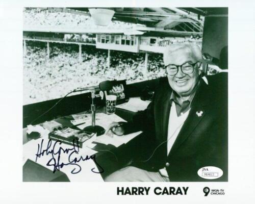 REPRINT - HARRY CARAY Chicago Cubs Autographed Signed 8 x 10 Photo RP