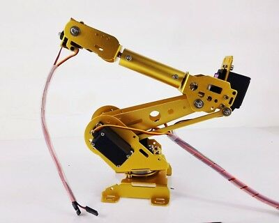 6 Axis Robot Arm Mechanical Robot Arm Abb Industrial Free Manipulator Servos