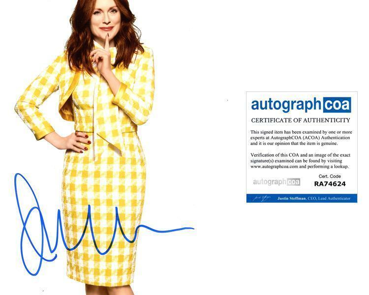 """Julianne Moore """"Kingsman: The Golden Circle"""" AUTOGRAPH Signed 8x10 Photo B ACOA"""