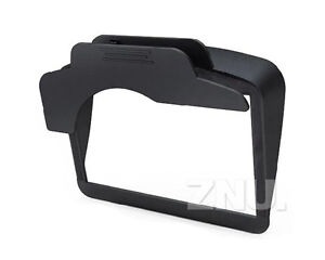 Fashion-Universal-Sun-Shade-Visor-Screen-For-GPS-Sat-Nav-With-4-3-5-Black