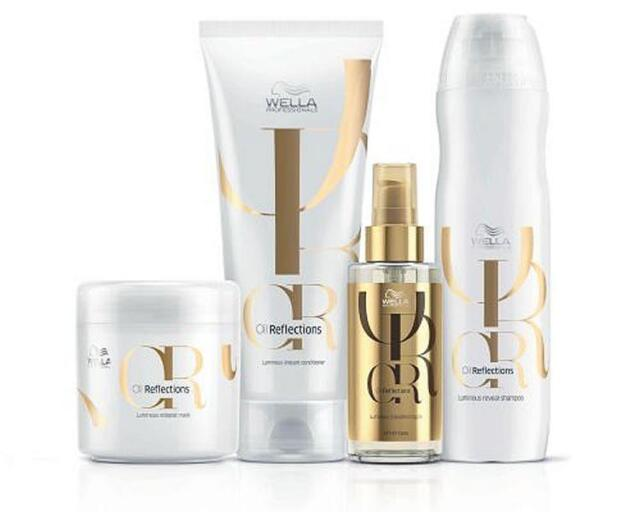 Wella Oil Reflections Set (Shampoo+Conditioner+Mask+Oil)